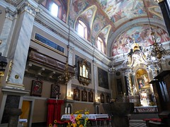 Ljubljana (Croacia). Iglesia de San Francisco. Interior