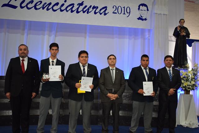 Licenciatura premiaciones 2019