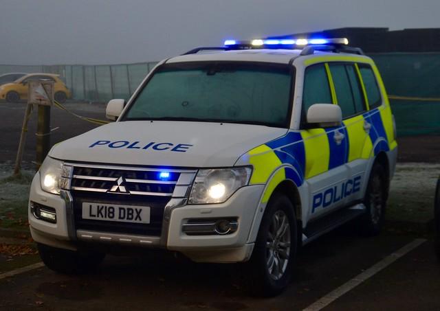 Cambridgeshire Police Mitsubishi Shogun Rural Crime Team