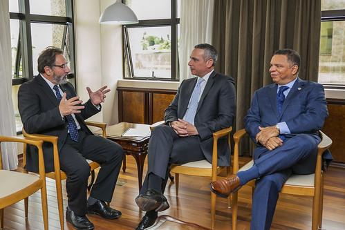 Visita Embaixador República Dominicana  Alejandro Arias Zarzuela