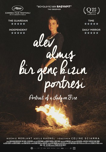 Alev Almış Bir Genç Kızın Portresi - Portrait of a Lady on Fire