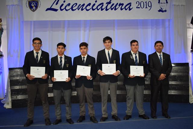 Licenciatura 2019 4° A y B TP
