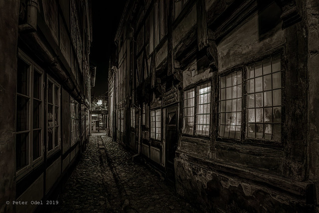 Mysterious alley in Elsinore