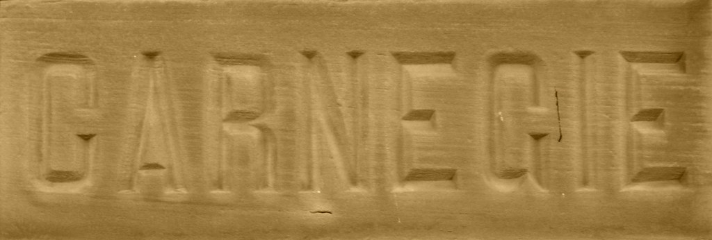 Carnegie corner stone
