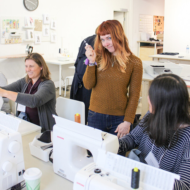 Sew Your Own Jeans weekend workshop at Blackbird Fabrics 2019