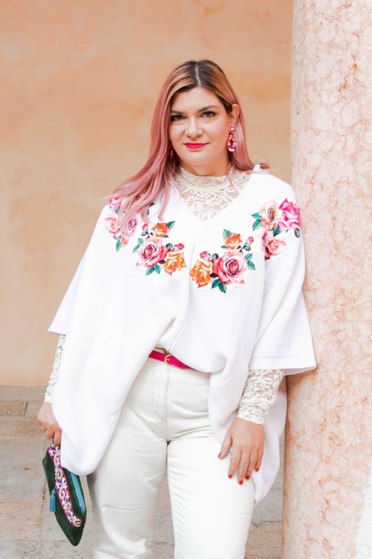 Outfit bianco curvy plus size visione Italia (7)