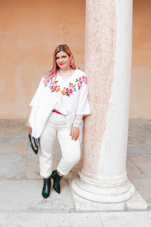 Outfit bianco curvy plus size visione Italia (6)