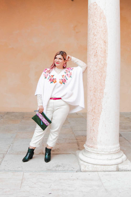 Outfit bianco curvy plus size visione Italia (4)