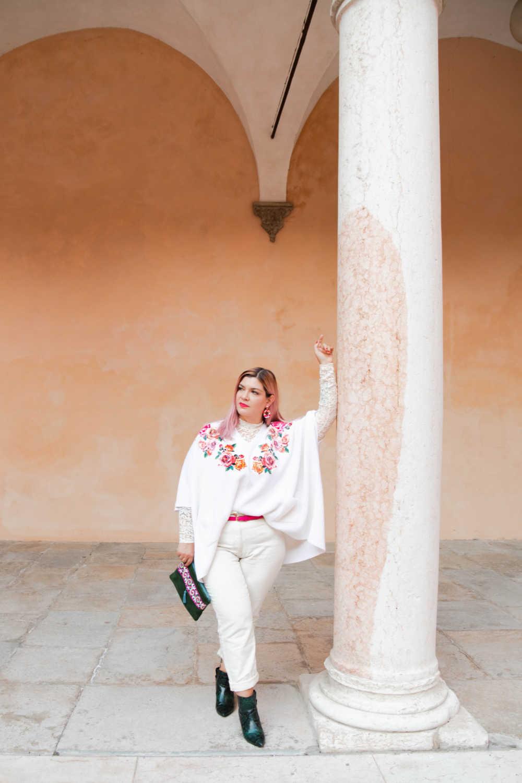 Outfit bianco curvy plus size visione Italia (2)