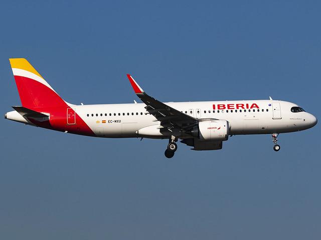 Iberia   Airbus A320-251N   EC-MXU