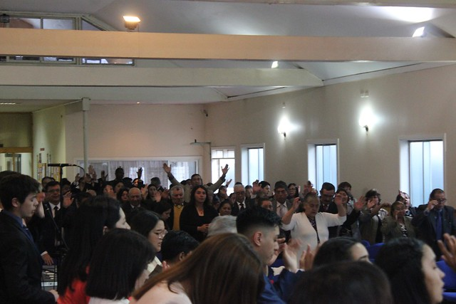"""""""Su sangre garantiza victoria"""" Santa Cena en Iglesia Osorno Vicente Reyes"""