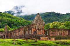 Le site préangkorien du Wat Phou, au Laos