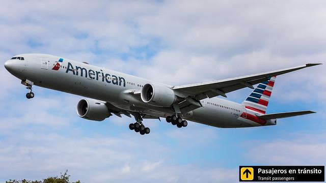 Boeing B777 American Airlines N728AN