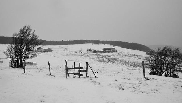 1ere neige aux