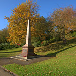 Memorial in Avenham Park, Preston