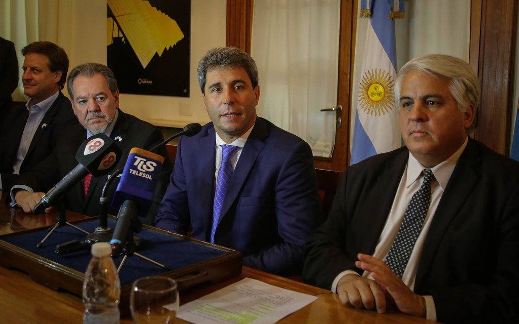 2019-11-19 PRENSA: Firma de Convenio Marco de Cooperación entre el Gobierno de la Provincia de San Juan y la Cámara  de Comercio Argentino Israelí