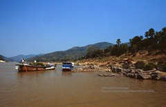 Huay Xai to Pakbeng by freight boat