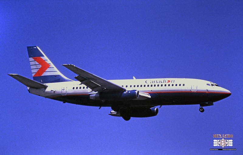 Canadian / Boeing 737-217 (Adv) / C-GCPX