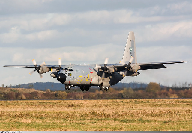 Lockheed C-130H Royal Saudi Air Force 1624
