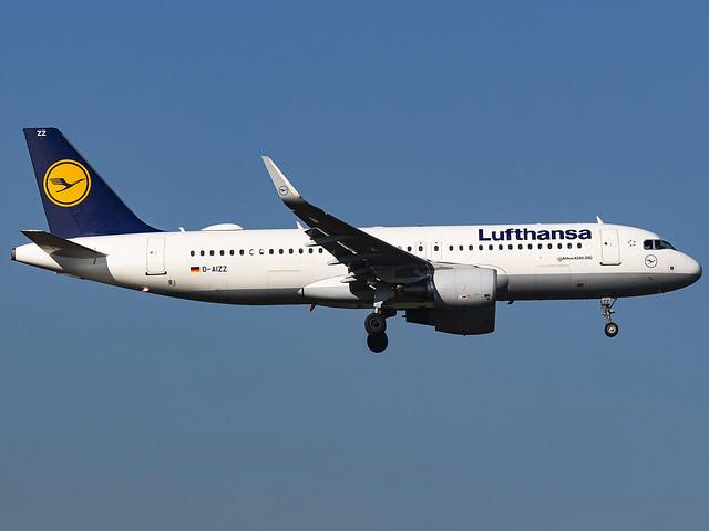 Lufthansa | Airbus A320-214(WL) | D-AIZZ