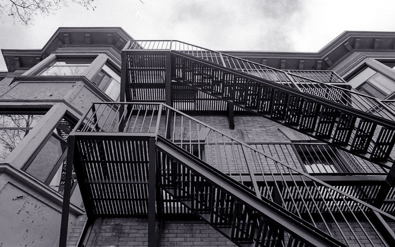 Apartment Fire Escapes