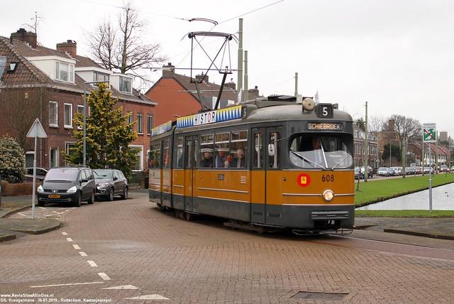 Stichting RoMeO 608 - Rotterdam Schiebroek 26-01-2019.