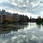 19. November 2019 - 14:30 - Hofvijver in Den Haag / court pond