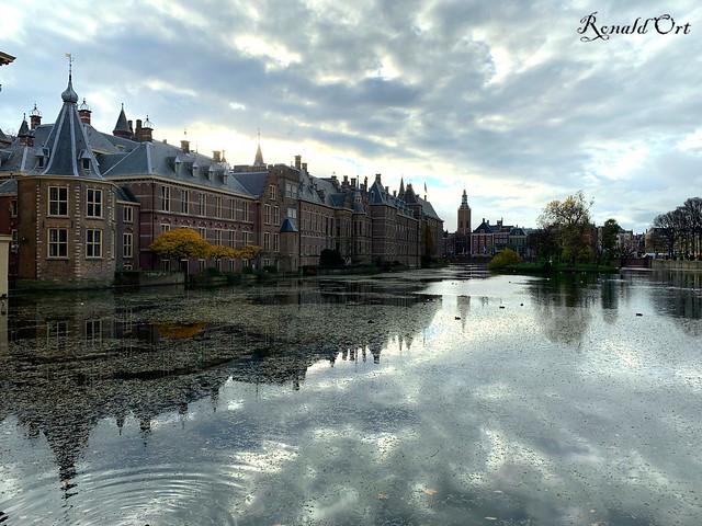 Hofvijver in Den Haag / court pond