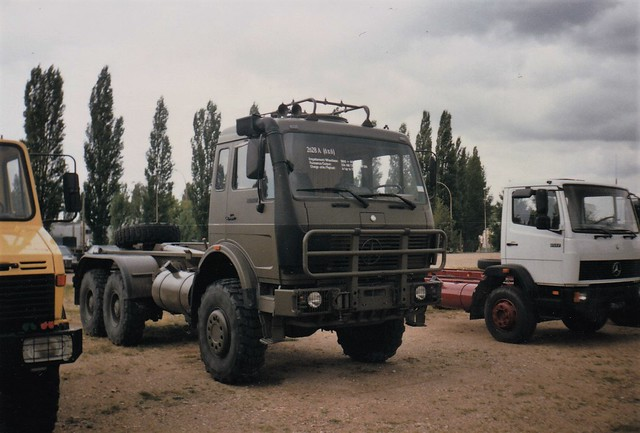 Mercedes NG 2628 6x6 Gonesse (95 Val d'Oise) 21-07-92a