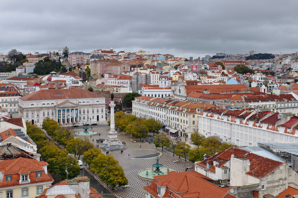 Praça dos Restauradores, Lisbon (PT)