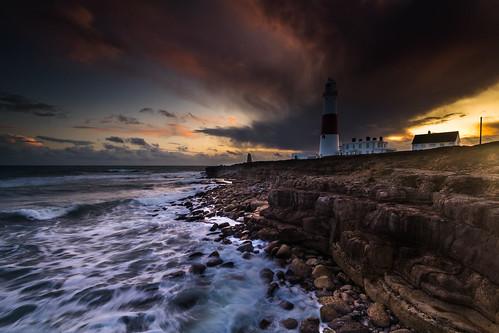 portlandbill lighthouse dorset england uk sunset waves seascape canon 80d sigma 1020mm leefilters
