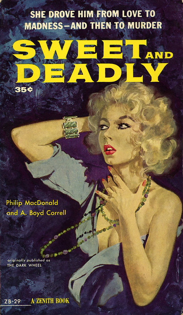Zenith Books ZB-29 - Philip MacDonald & A. Boyd Correll - Sweet and Deadly