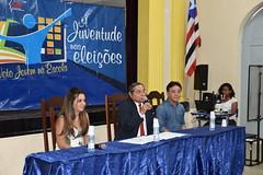 Projeto Voto Jovem na Escola - Palestra no Liceu Maranhense