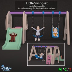 Presenting the new Little Swingset from Jester Inc.