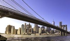 Lower Manhattan view from Dumbo - New York -