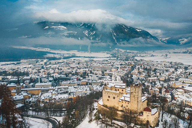 Early winter in Bruneck | Italia aerial #323/365