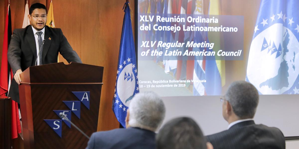Venezuela impulsa investigación en el SELA sobre impacto de medidas coercitivas
