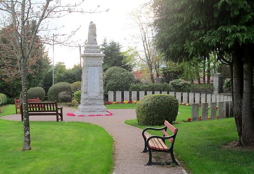 Tillicoultry War Memorial Reverse