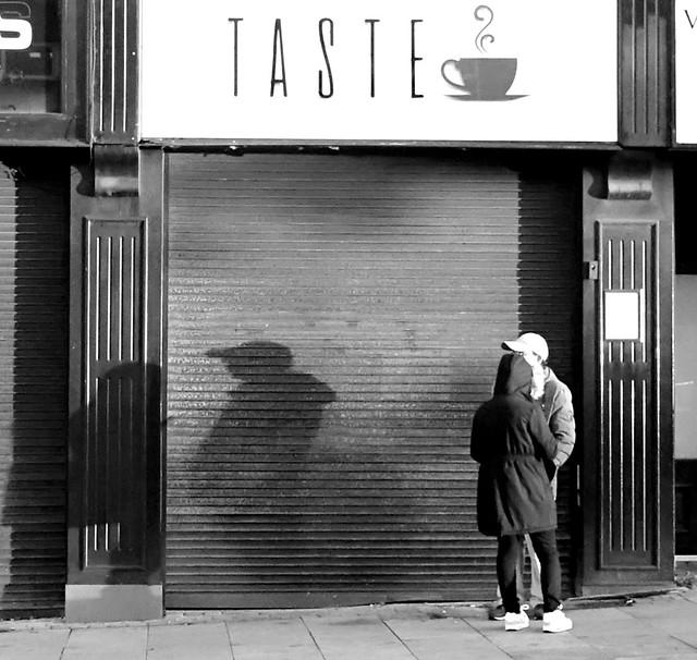 Shadow couple in Preston