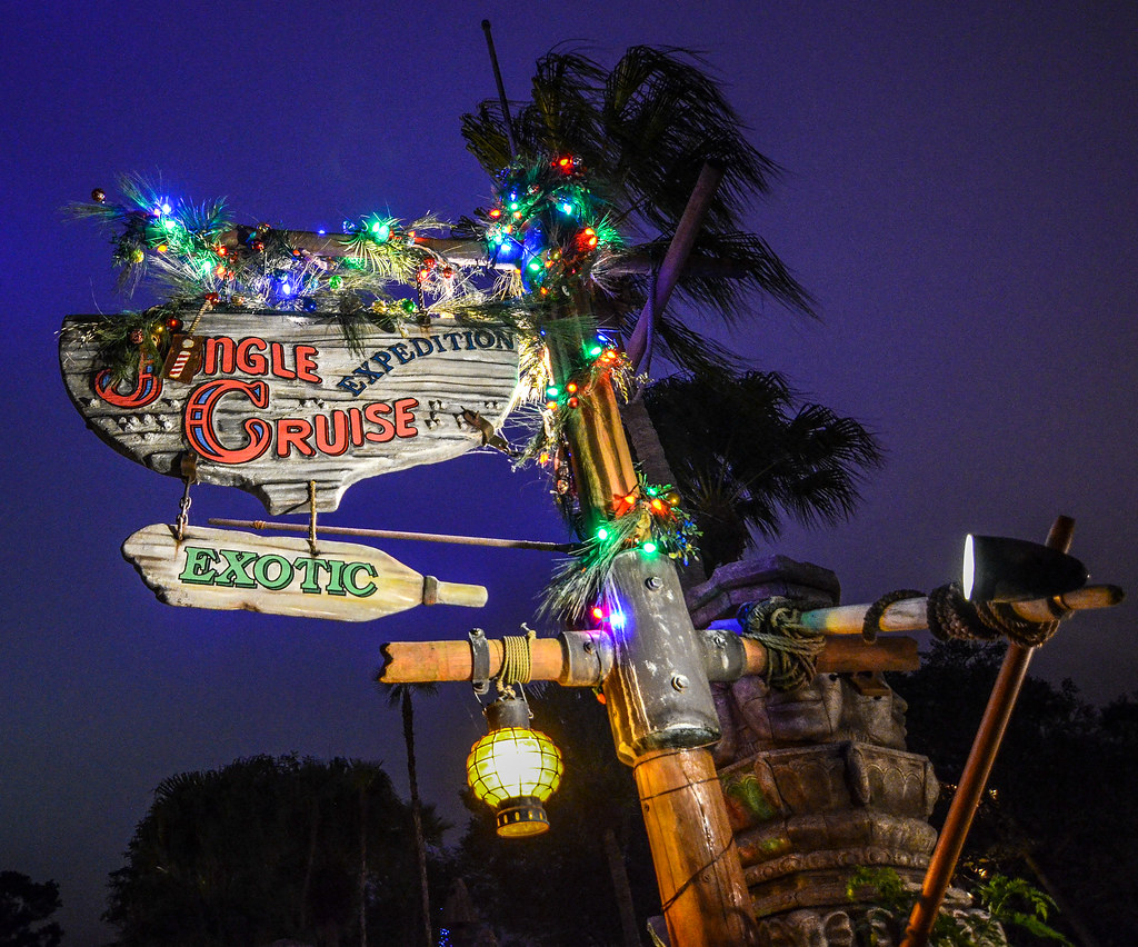 Jingle Cruise MK sign