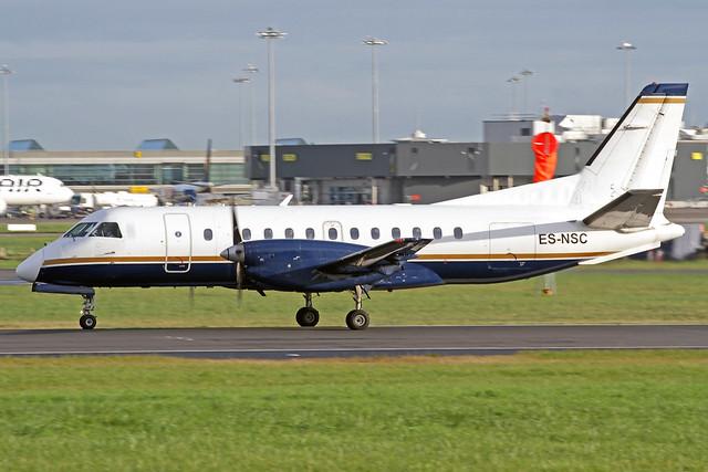 NyxAir Saab 340B ES-NSC DUB 18-10-19