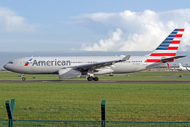 American Airlines Airbus A330-243 N290AY DUB 18-10-19