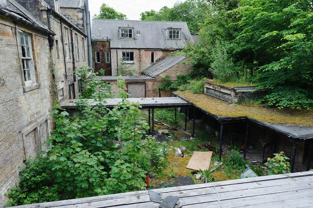 Abandoned seminary Ayrshire Scotland