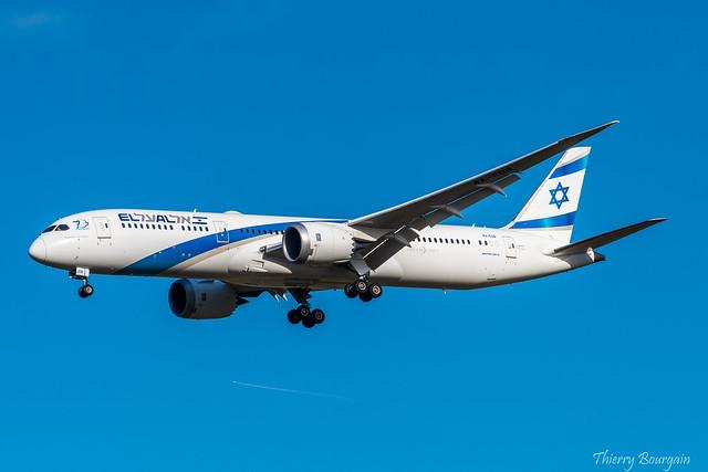 [CDG] EL AL  Boeing 787-9 _ 4X-EDB