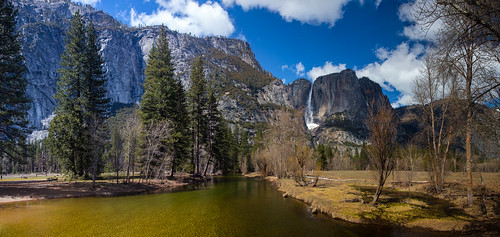 Yosemite Falls Panoramic