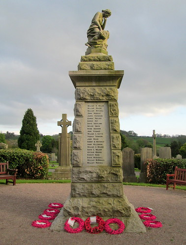 North Aspect, Tillicoultry War Memorial 7