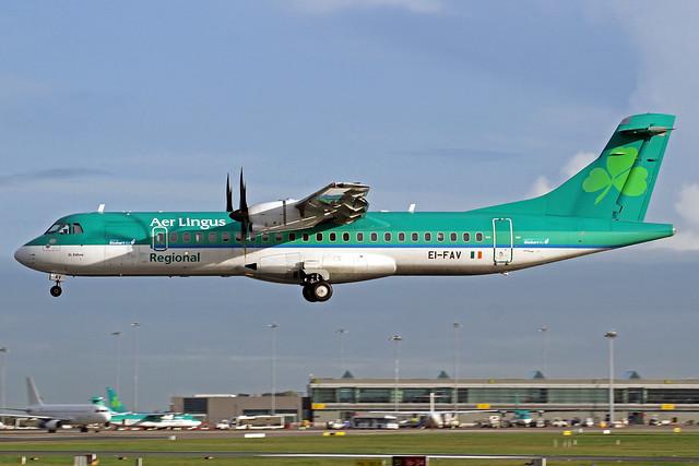 Aer Lingus Regional (Stobart Air) ATR 72-600 EI-FAV