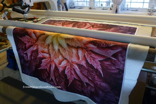 Free Motion Quilting at FromMyCarolinaHome.com