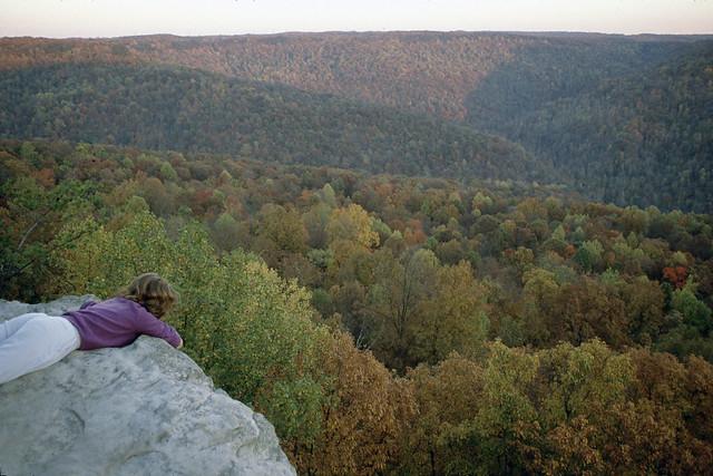 DEC 89?; Bee Rock, Judy Luna; TN Natural Areas