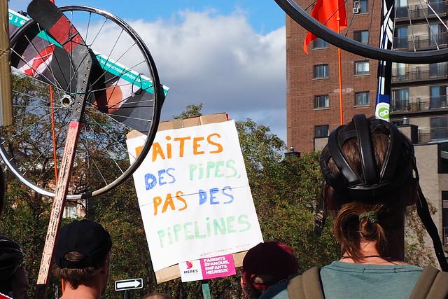 Manifestation climat Montréal
